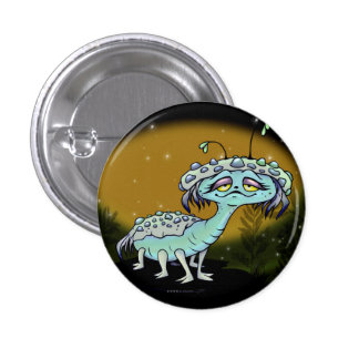 MAGE CUTE ALIEN MONSTER SMALL BUTTON