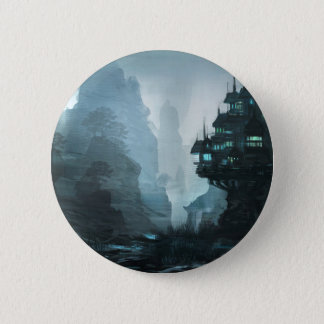 Mage House Of Wisdom 2 Inch Round Button