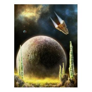 Magellan Explorer Universe Surface - Postcard