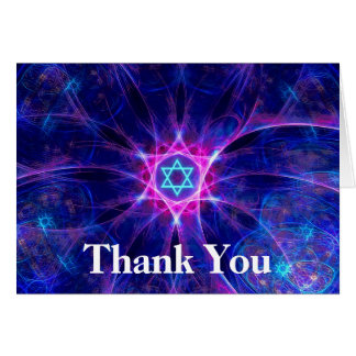 Magen Bet Thank You Greeting Cards