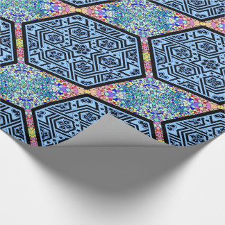 Magen David Geometric Wrapping Paper