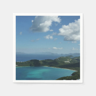 Magens Bay, St. Thomas Beautiful Island Scene Disposable Napkins