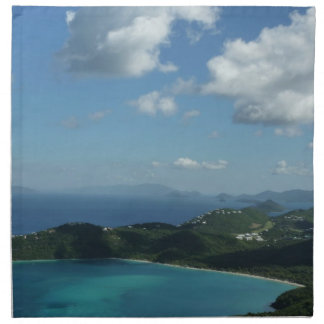 Magens Bay, St. Thomas Beautiful Island Scene Napkin