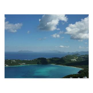 Magens Bay, St. Thomas Beautiful Island Scene Postcard