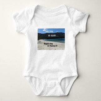 Magens Bay, St. Thomas VI Baby Bodysuit