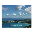 Magens Bay, St. Thomas Wedding Save the Date Postcard