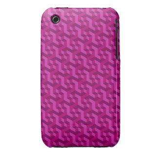 Magenta 3D iPhone 3/3GS case