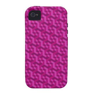 Magenta 3D iPhone 4/4S case