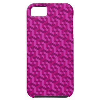 Magenta 3D iPhone 5 case