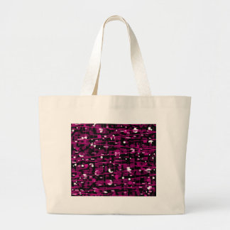 Magenta abstraction large tote bag