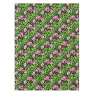 Magenta African Daisies Tablecloth