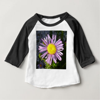 Magenta Aster - A Star of Love and Fidelity Baby T-Shirt