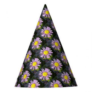 Magenta Aster - A Star of Love and Fidelity Party Hat
