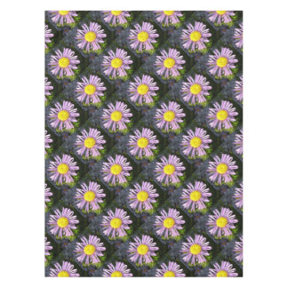 Magenta Aster - A Star of Love and Fidelity Tablecloth