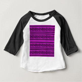 Magenta barbwire baby T-Shirt