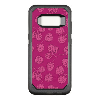 Magenta Berry Pattern OtterBox Commuter Samsung Galaxy S8 Case