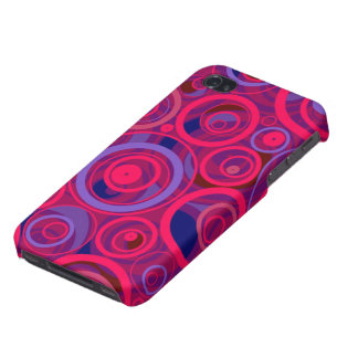Magenta Bubbles iPhone 4 iPhone 4/4S Cover