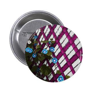 Magenta Chain-Link 2 Inch Round Button