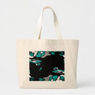 Magenta creativity large tote bag