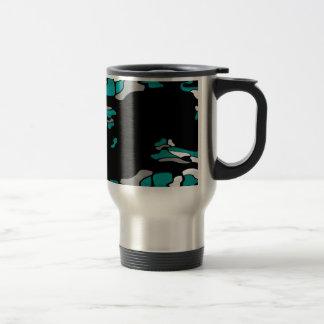 Magenta creativity travel mug