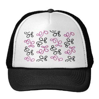Magenta elegance trucker hat
