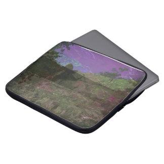 Magenta Hill Laptop Sleeve