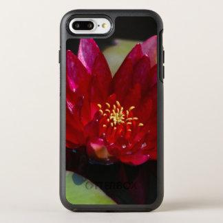 Magenta Lotus Waterlily OtterBox Symmetry iPhone 8 Plus/7 Plus Case