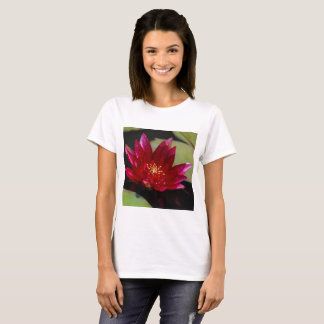Magenta Lotus Waterlily T Shirt