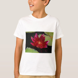 Magenta Lotus Waterlily T-Shirt