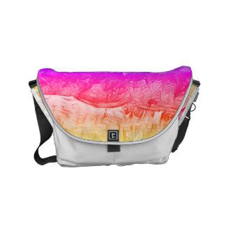Magenta Messenger Bags
