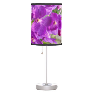 Magenta Orchid Table Lamp