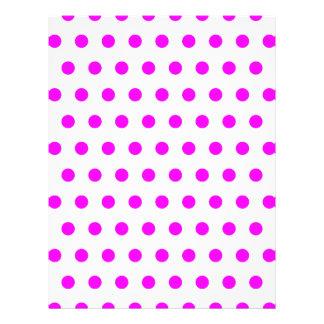 Magenta Polka Dots Flyer