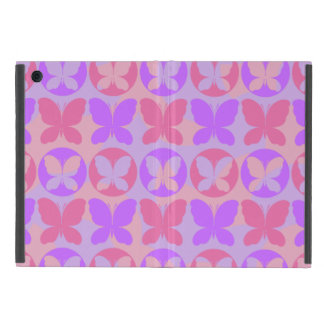 Magenta Purple Pink Butterflies Butterfly Pattern Cover For iPad Mini