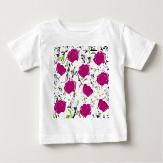 Magenta roses baby T-Shirt