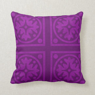 Magenta Solid Color Pillow Design