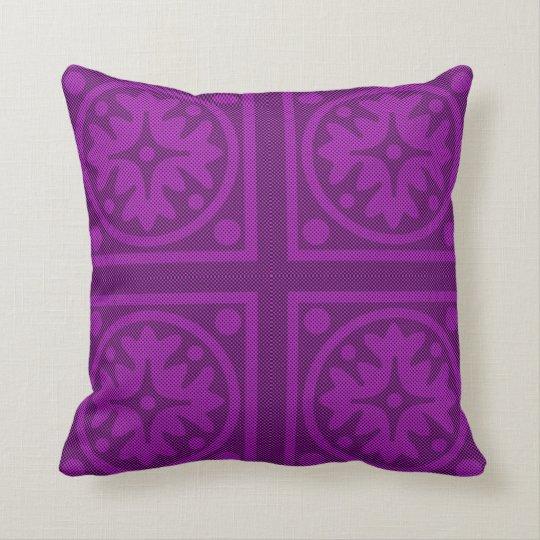 Magenta Solid Colour Pillow Design