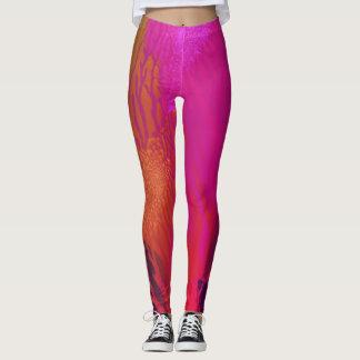 Magenta Splash - Leggings