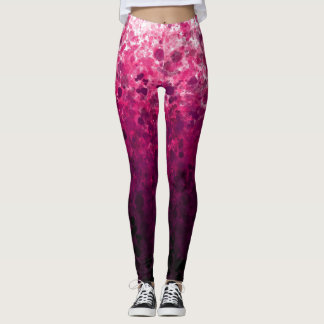 Magenta Spots - Leggings