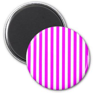 Magenta Stripes Magnet