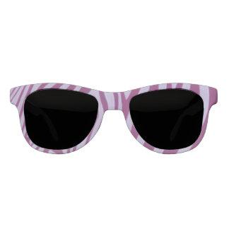 Magenta Zebra Sunglasses