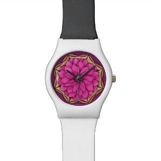 MAGENTAPOINSETTIA Watch