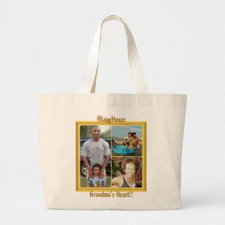 MaggHouze Grandma's Heart Tote Bag