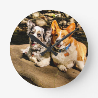 Maggie and Charlie's Vacation Wallclock