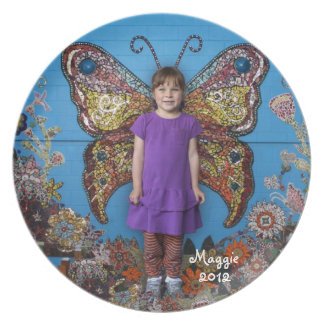 Maggie Butterfly Plate