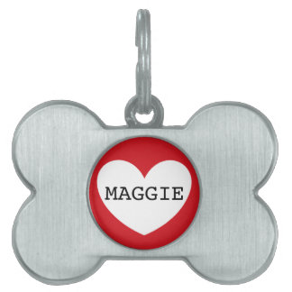 ❤️  MAGGIE pet tag by DAL