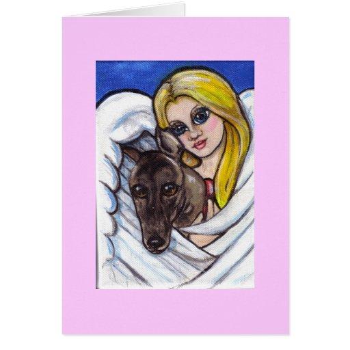 Maggies Angel Greeting Card