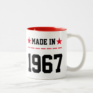 Maggot in 1967, Two-Tone coffee mug