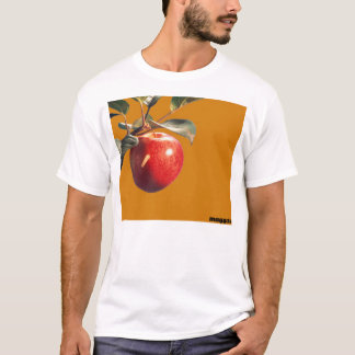 Maggot in Adam's Apple (Knowledge Eatery) T-Shirt