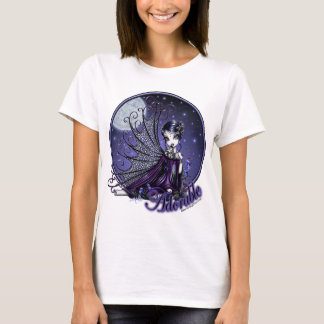 Maggy Adorable Moon and Stars Dragonfly Fairy T-Shirt