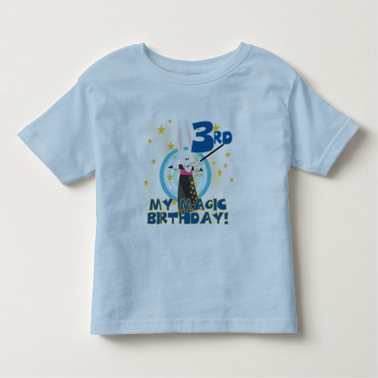 Magic 3rd Birthday Tshirts and Gifts